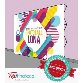 Crea tu propio Photocall Lona