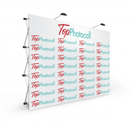 Photocall textil Medidas