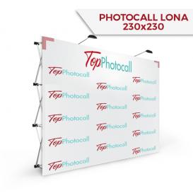 Photocall 230x230 Lona