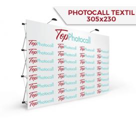 Photocall Textil 305x230