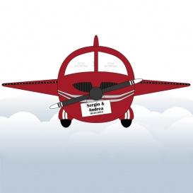 Photocall Troquel Avioneta