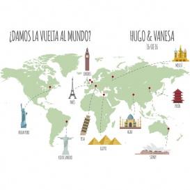Photocall Boda Vuelta al Mundo