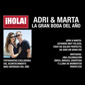 Photocall Boda Portada Revista