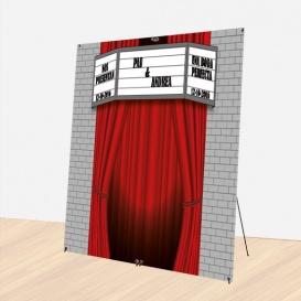 Photocall Boda Teatro