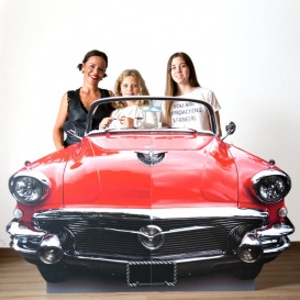 Photocall Troquel coche