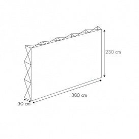 Photocall Textil 380x230