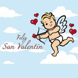 Photocall Temático Cupido San Valentín