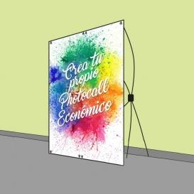 Crea tu propio Photocall Económico