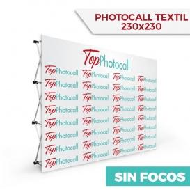Photocall Textil 230x230 Sin Focos