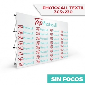Photocall Textil 305x230 Sin Focos