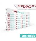 Photocall Textil 380x230 Sin Focos