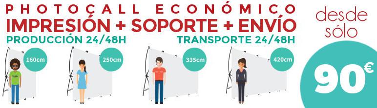 Photocall económico